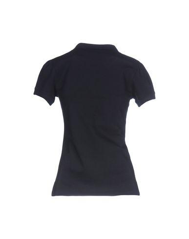 Фото 2 - Женское поло  темно-синего цвета