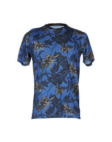 Фото - Женскую футболку BRIAN DALES темно-синего цвета