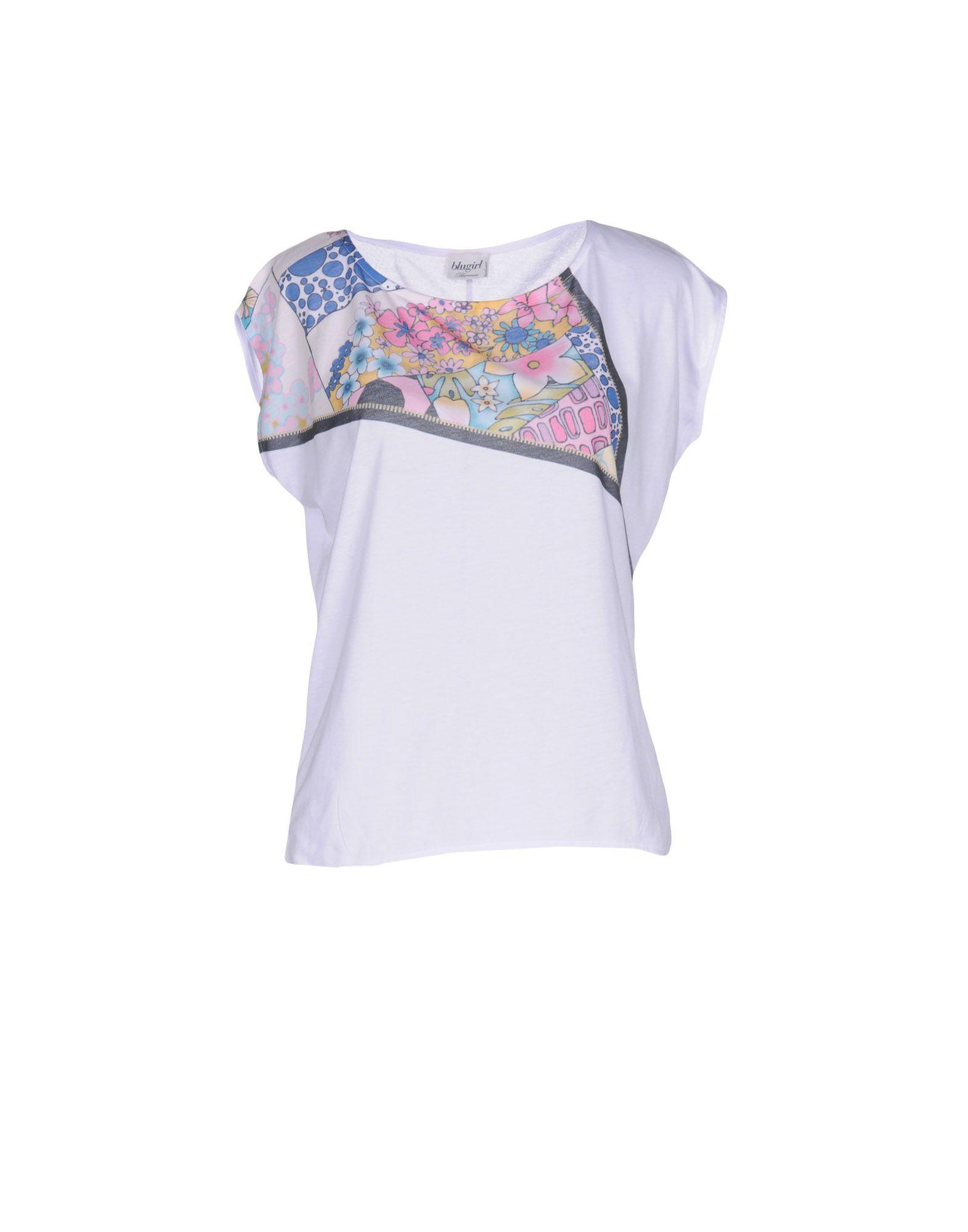 BLUGIRL BLUMARINE BEACHWEAR Футболка blumarine beachwear футболка