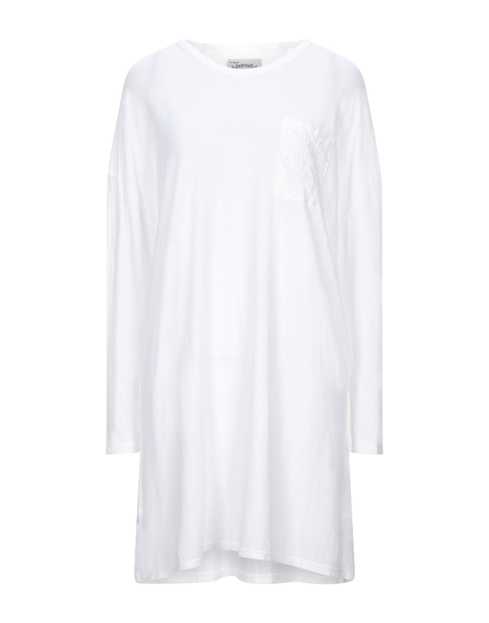 PINK MEMORIES Damen Kurzes Kleid Farbe Weiß Größe 5