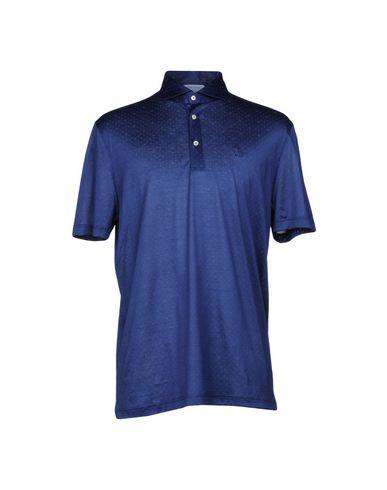 Купить Мужское поло GRAN SASSO темно-синего цвета