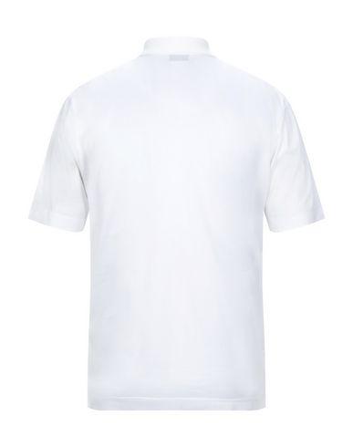 Фото 2 - Мужское поло GRAN SASSO белого цвета