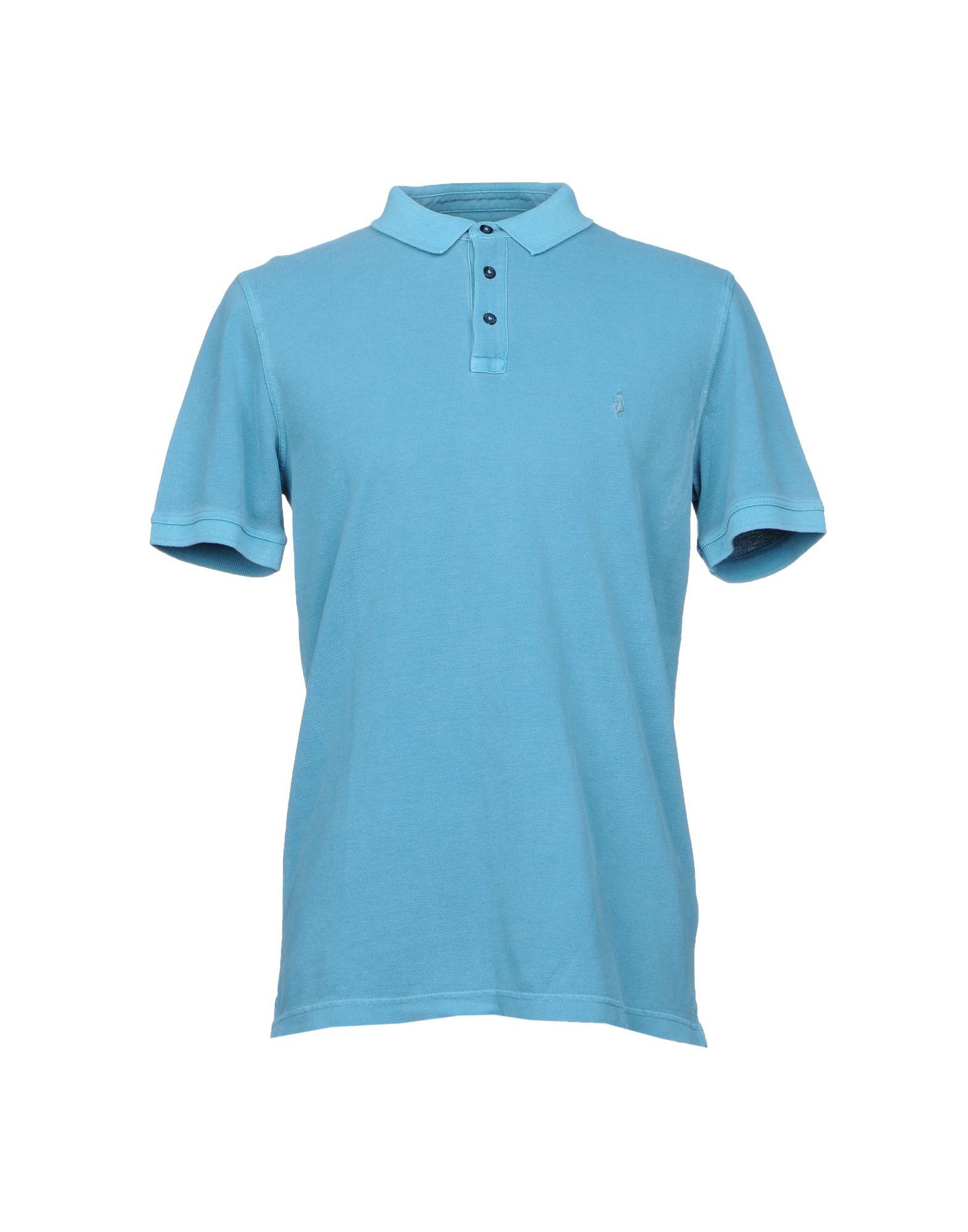 《送料無料》MCS MARLBORO CLASSICS メンズ ポロシャツ スカイブルー XL コットン 100%