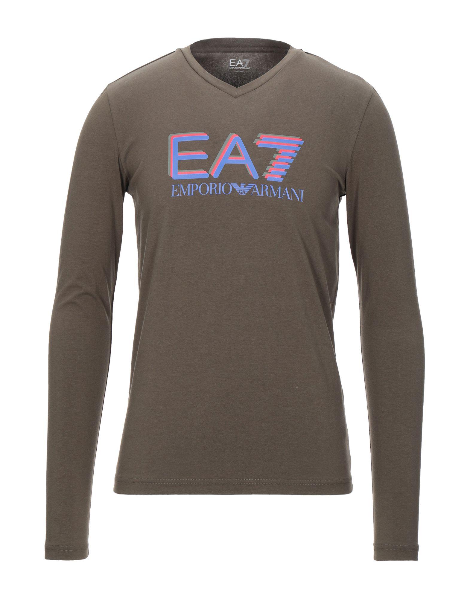 цена EA7 Футболка онлайн в 2017 году