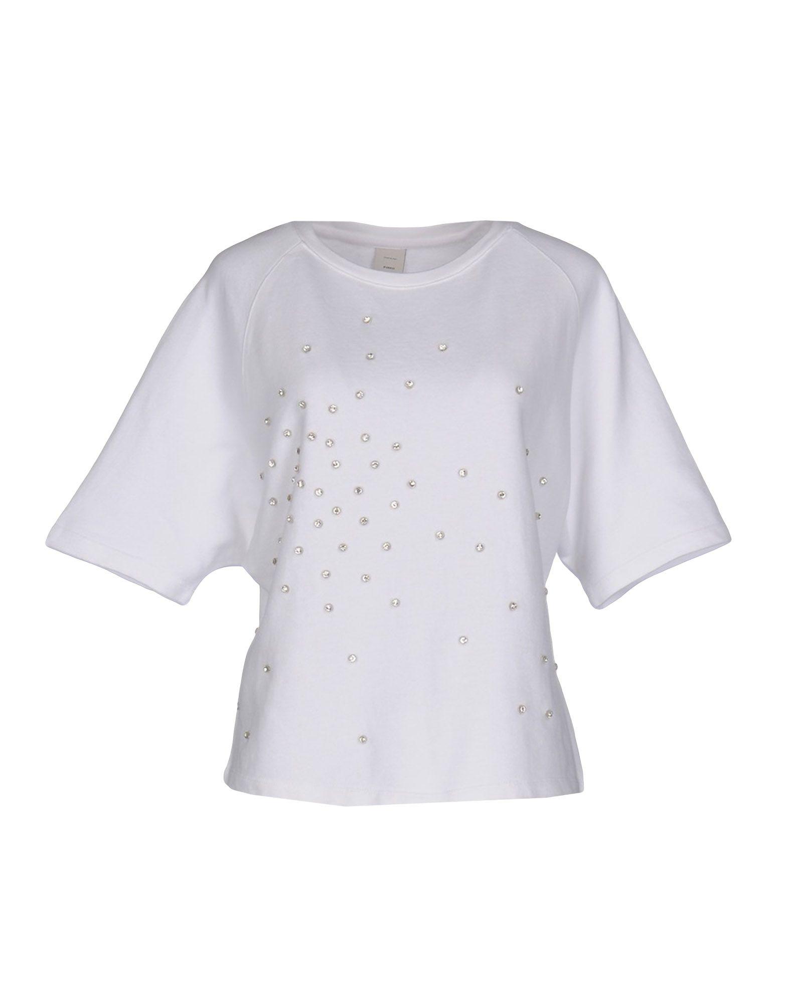 PINKO Damen Sweatshirt Farbe Weiß Größe 3