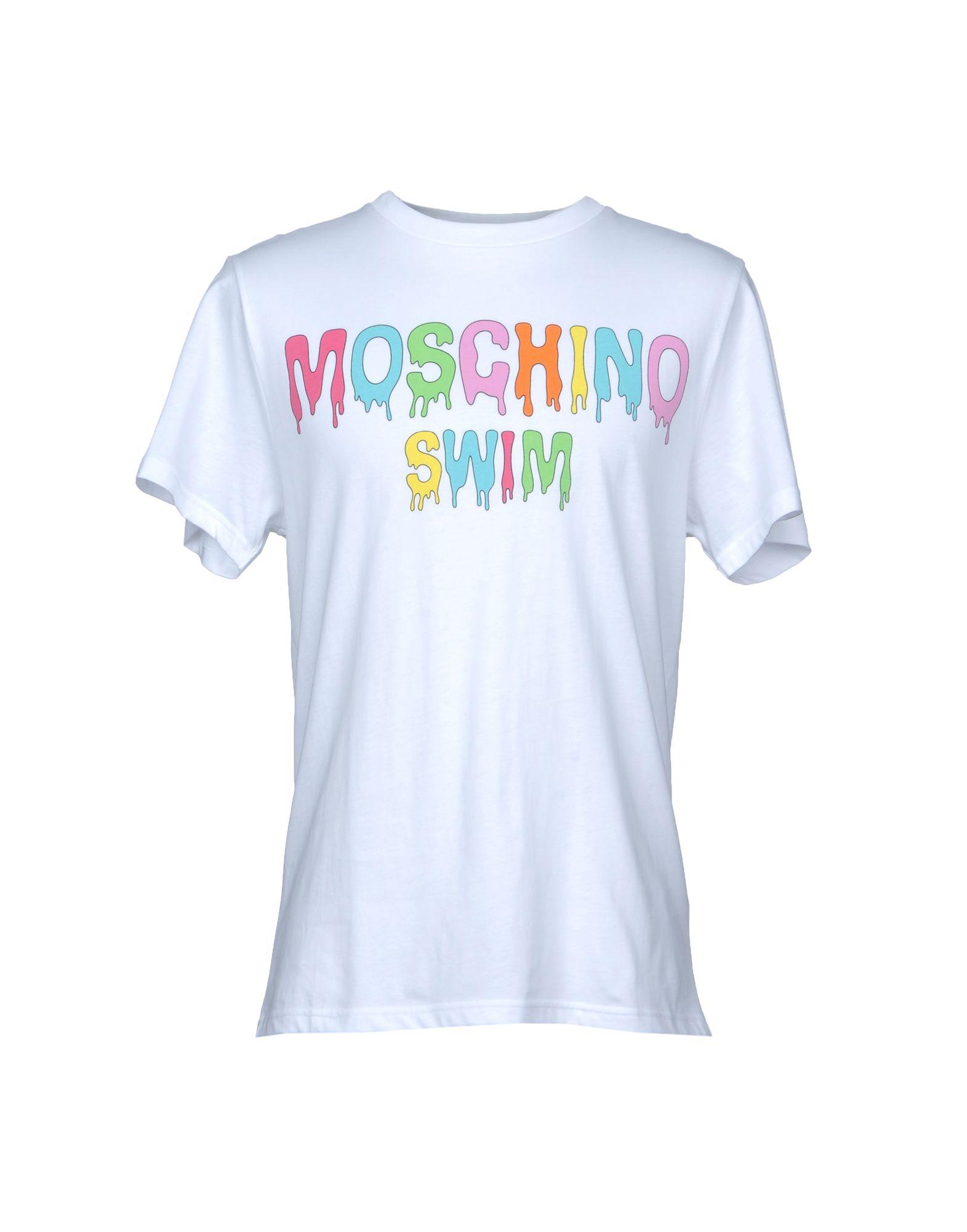 MOSCHINO SWIM Футболка футболка домашняя moschino moschino mo351ewqhh03