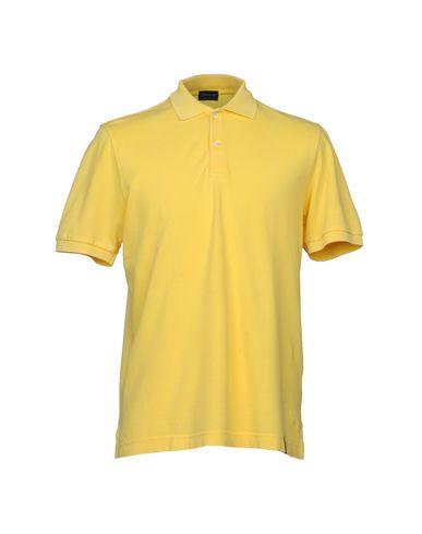 Купить Мужское поло DRUMOHR светло-желтого цвета