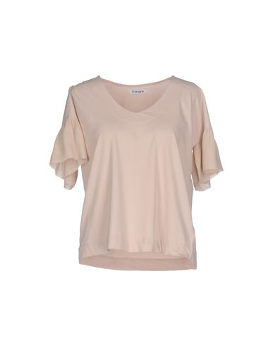Фото - Женскую футболку  бежевого цвета