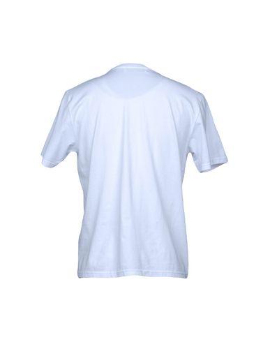 Фото 2 - Женскую футболку JIMI ROOS белого цвета