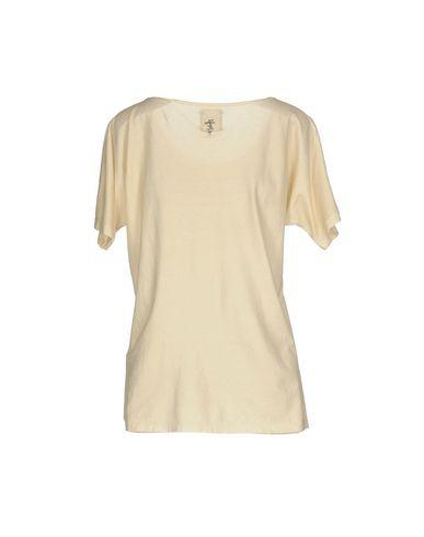 Фото 2 - Женскую футболку TWIN-SET JEANS бежевого цвета