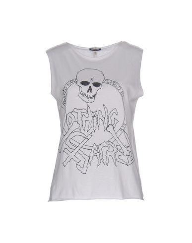 Фото - Женскую футболку R13 цвет слоновая кость