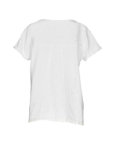 Фото 2 - Женскую футболку RTA белого цвета