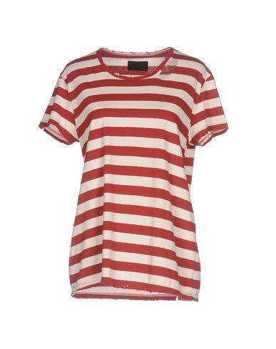 Фото - Женскую футболку RTA красного цвета