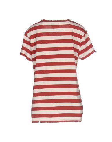 Фото 2 - Женскую футболку RTA красного цвета