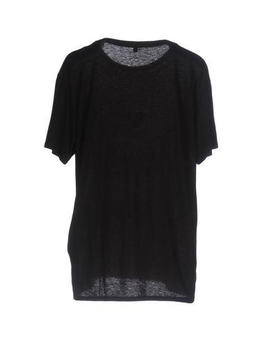 Фото 2 - Женскую футболку R13 черного цвета