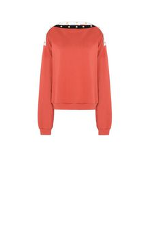 PHILOSOPHY di LORENZO SERAFINI Boat neck Philosophy sweatshirt TOPWEAR Woman f