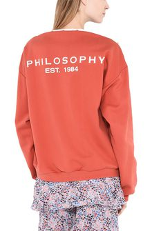 PHILOSOPHY di LORENZO SERAFINI Boat neck Philosophy sweatshirt TOPWEAR Woman r