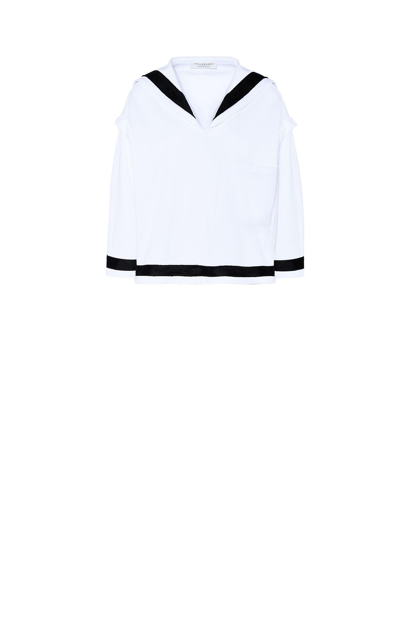Sailor-style Philosophy sweatshirt