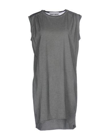Фото - Женскую футболку BRAND UNIQUE свинцово-серого цвета