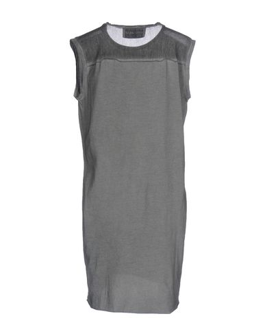 Фото 2 - Женскую футболку BRAND UNIQUE свинцово-серого цвета