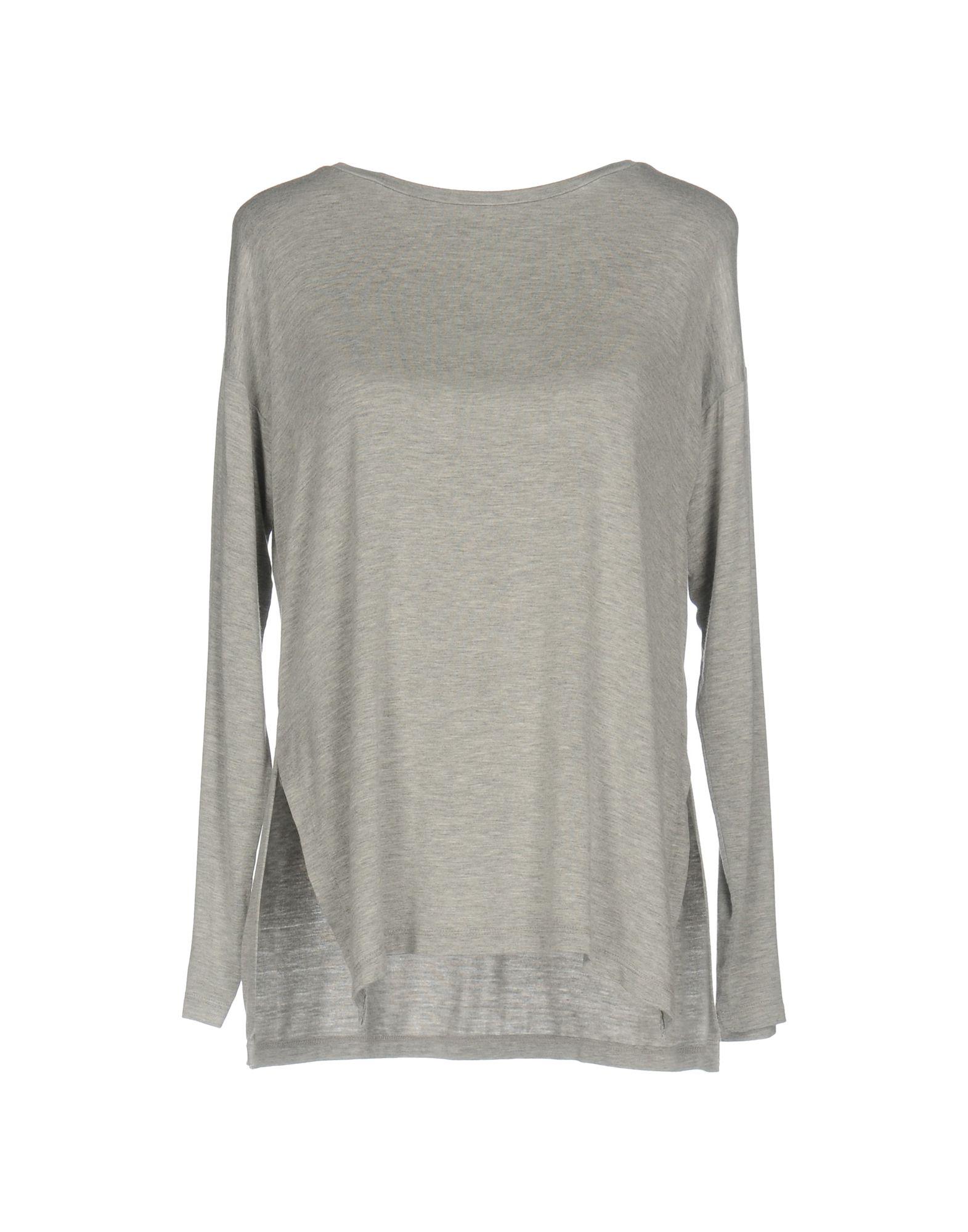 VELVET by GRAHAM & SPENCER Damen T-shirts Farbe Grau Größe 4