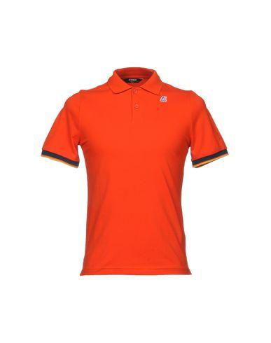 Фото - Мужское поло  оранжевого цвета