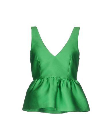 Фото - Топ без рукавов от P.A.R.O.S.H. зеленого цвета