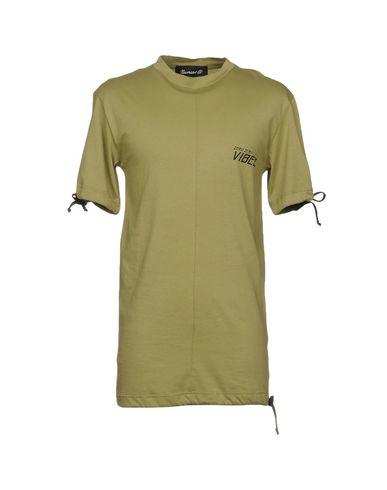 Фото - Женскую футболку NUMERO 00 цвет зеленый-милитари