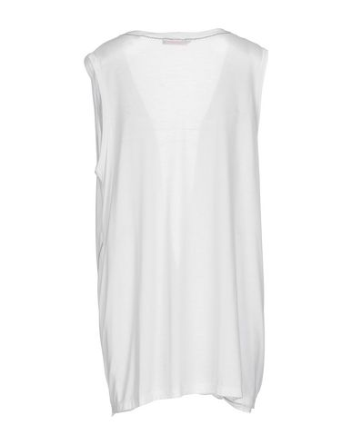 Фото 2 - Женскую футболку LE FATE белого цвета