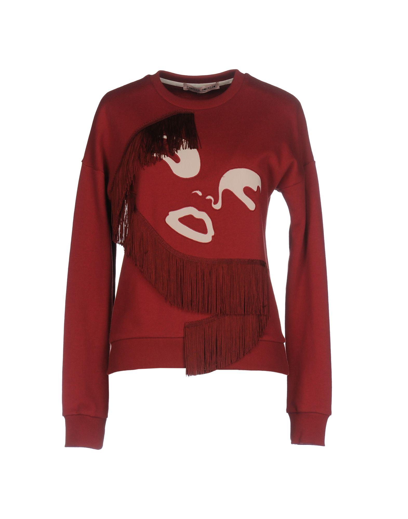 FRANKIE MORELLO Damen Sweatshirt Farbe Rot Größe 3 - broschei