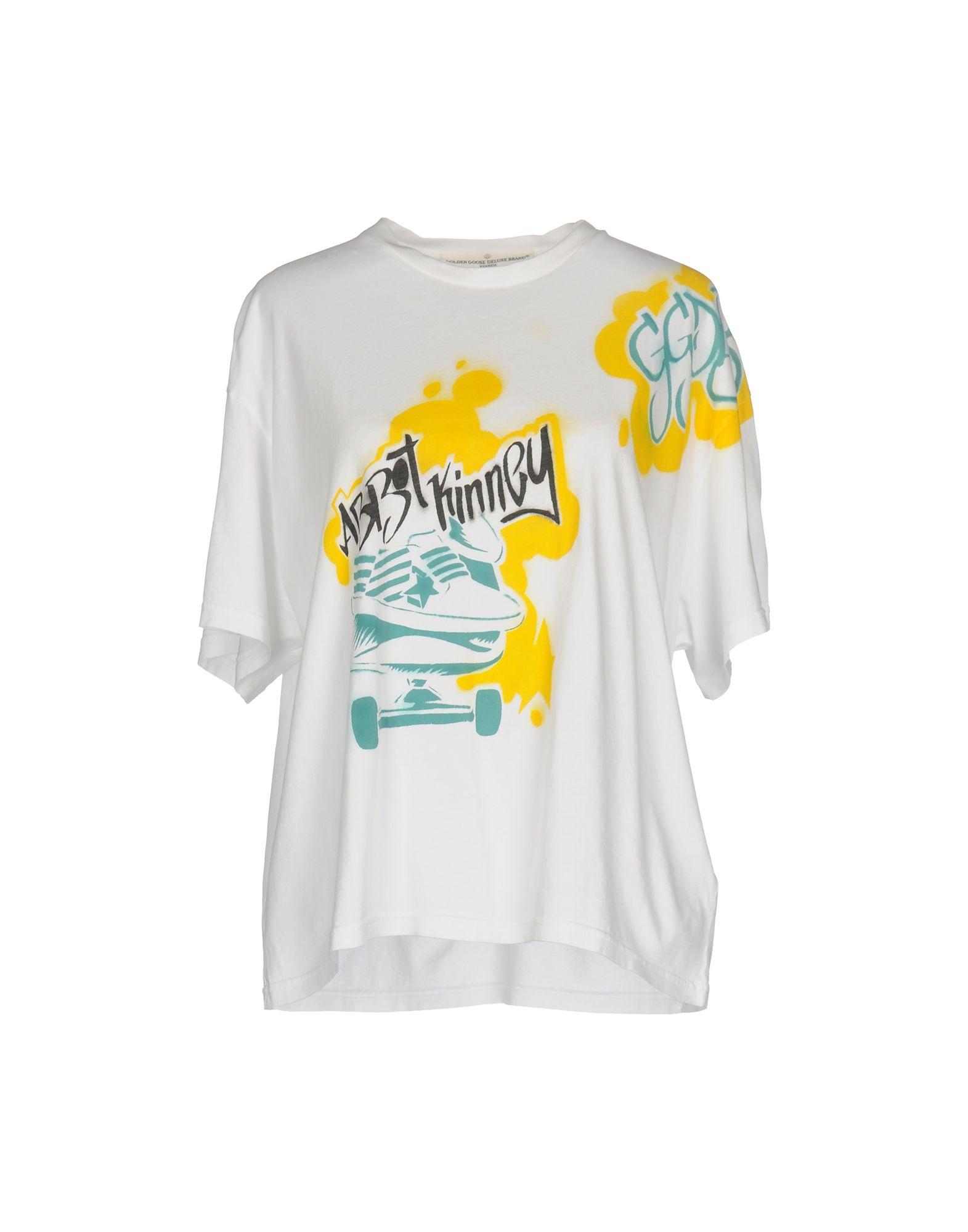 GOLDEN GOOSE DELUXE BRAND Damen T-shirts Farbe Weiß Größe 4 jetztbilligerkaufen