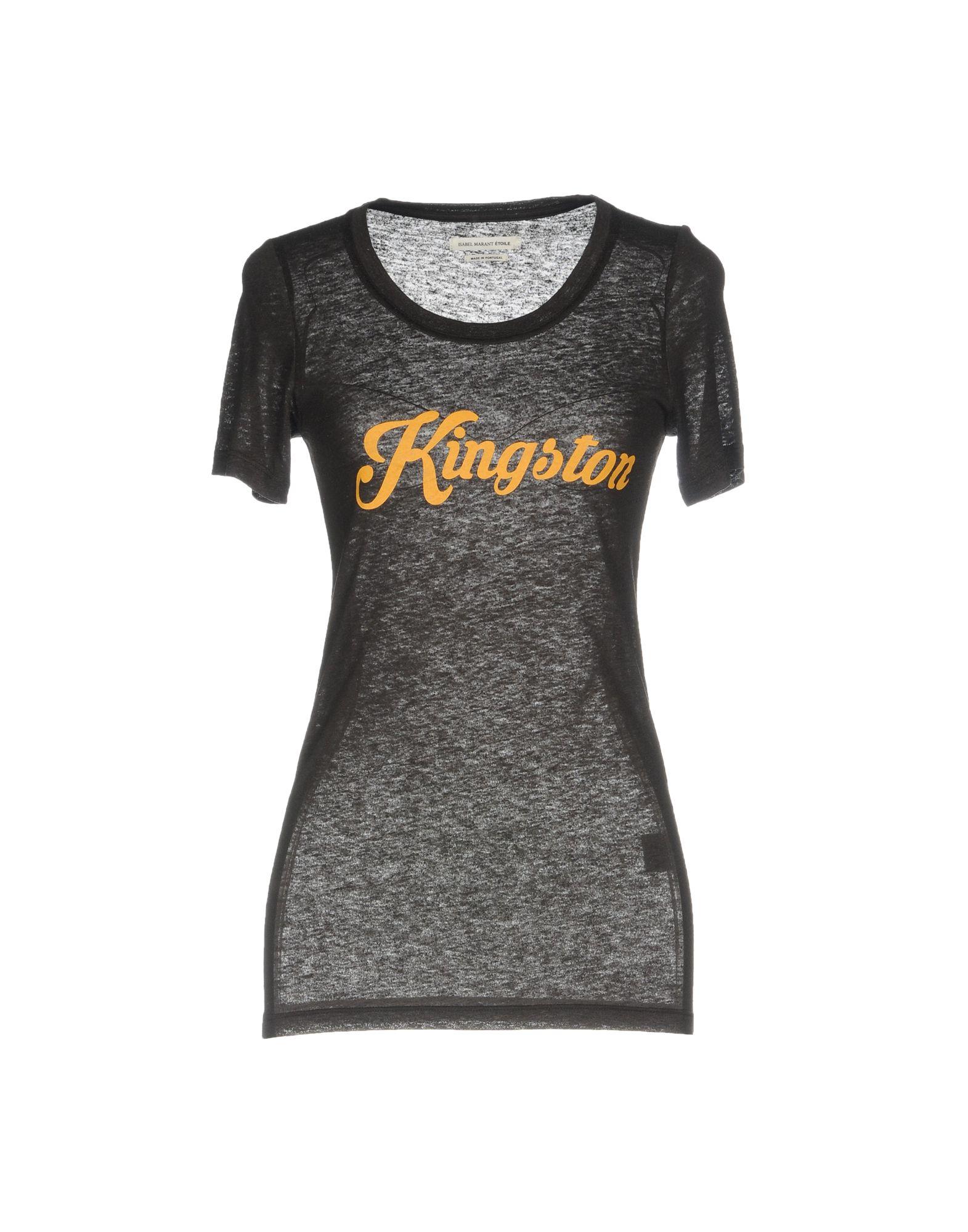 ISABEL MARANT ÉTOILE Damen T-shirts Farbe Schwarz Größe 3 - broschei
