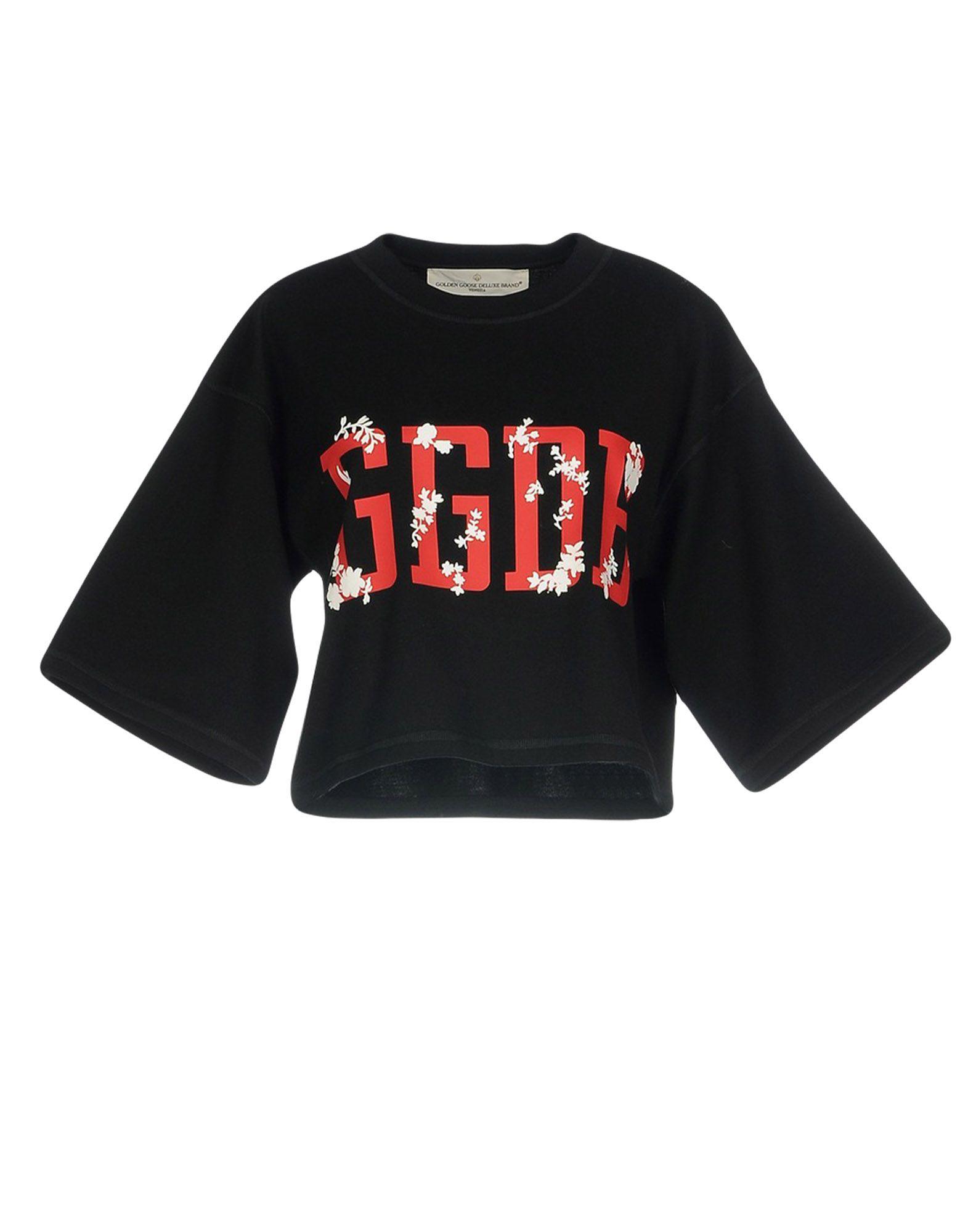 GOLDEN GOOSE DELUXE BRAND Damen Sweatshirt Farbe Schwarz Größe 5 jetztbilligerkaufen