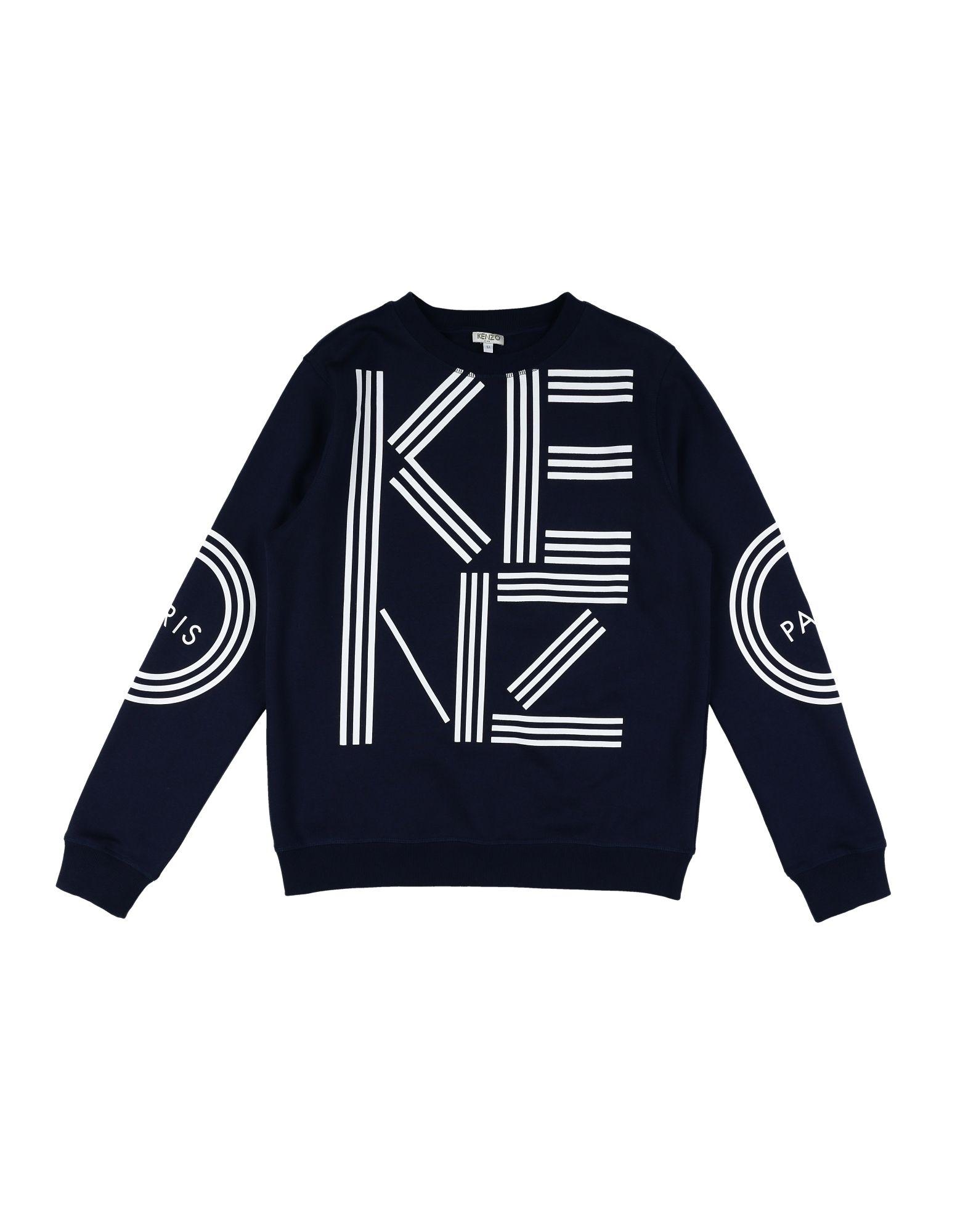 KENZO Jungen 9-16 jahre Sweatshirt Farbe Dunkelblau Größe 4 - broschei