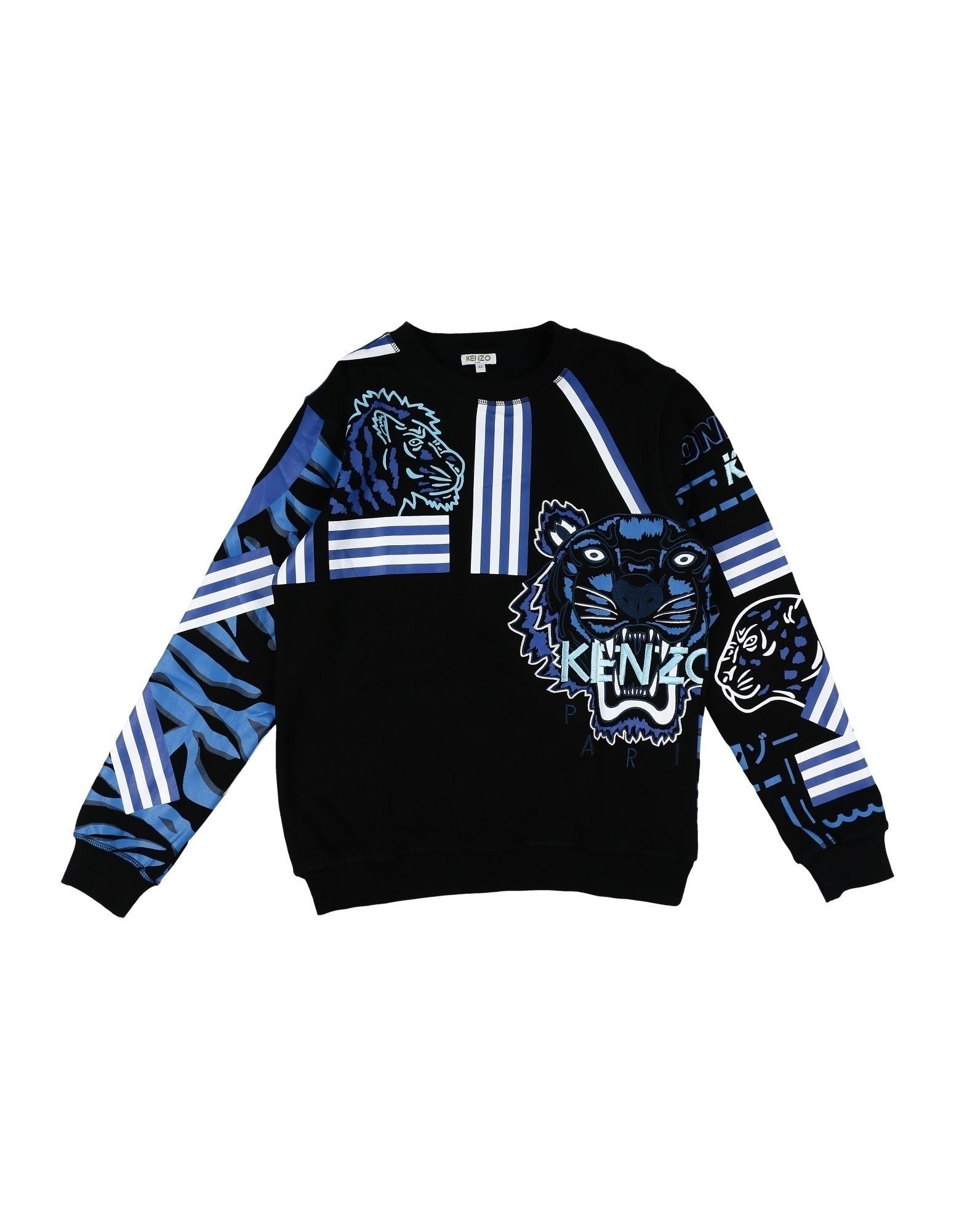 KENZO Jungen 9-16 jahre Sweatshirt Farbe Schwarz Größe 2 - broschei