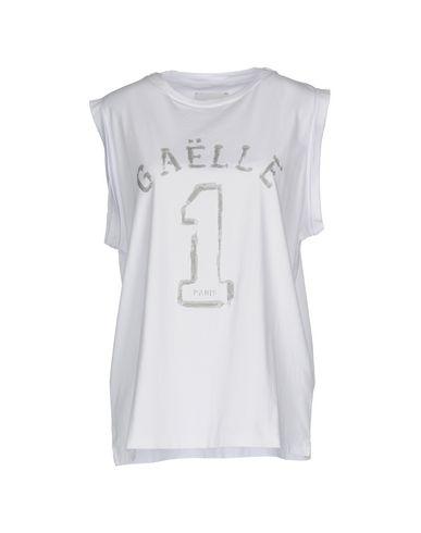 Фото - Женскую футболку GAëLLE Paris белого цвета