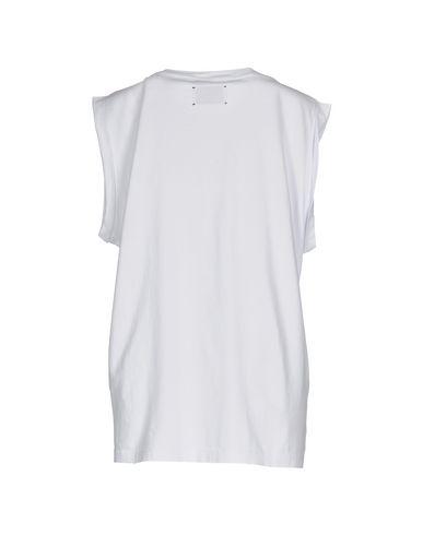 Фото 2 - Женскую футболку GAëLLE Paris белого цвета