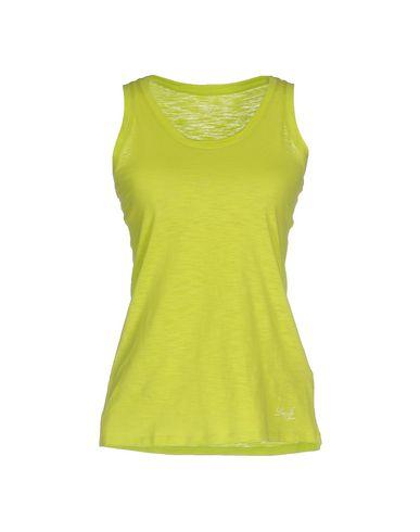 Купить Женскую майку  кислотно-зеленого цвета