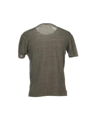 Фото 2 - Женскую футболку GRAN SASSO серого цвета