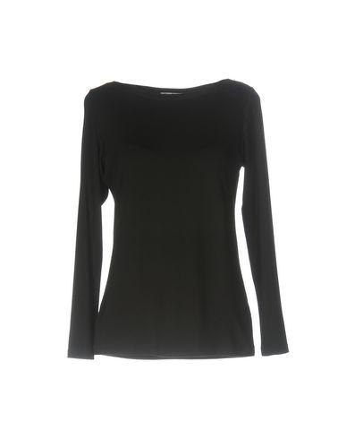 Фото - Женскую футболку GRAN SASSO черного цвета