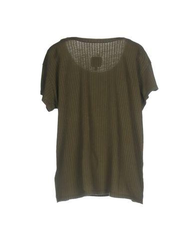 Фото 2 - Женскую футболку RTA цвет зеленый-милитари