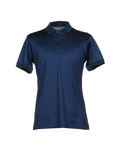 ALESSANDRO DELL'ACQUA メンズ ポロシャツ ブルー L コットン 100%
