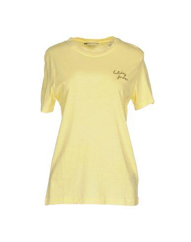 Фото - Женскую футболку  желтого цвета