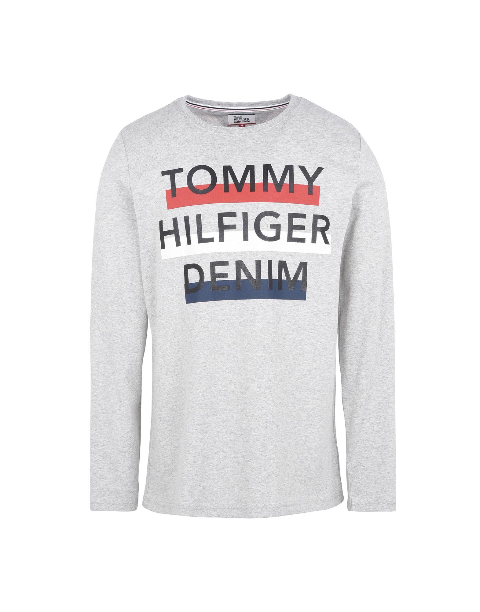 TOMMY HILFIGER DENIM Футболка футболка tommy hilfiger denim tommy hilfiger denim to013emtpa23