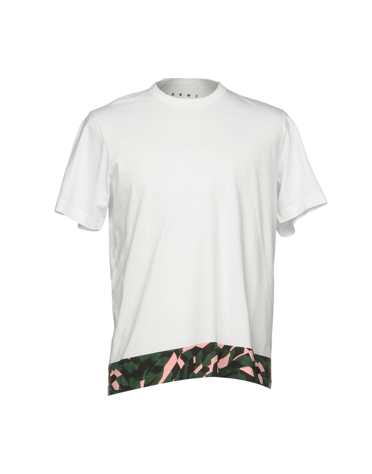 MARNI Herren T-shirts Farbe Weiß Größe 4