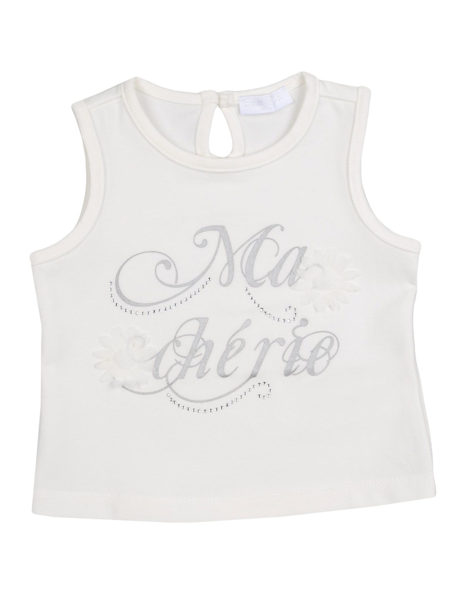 She.ver Chic Kids' She. Ver Chic T-shirts In Neutrals