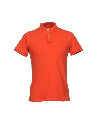 Фото - Мужское поло FRADI оранжевого цвета