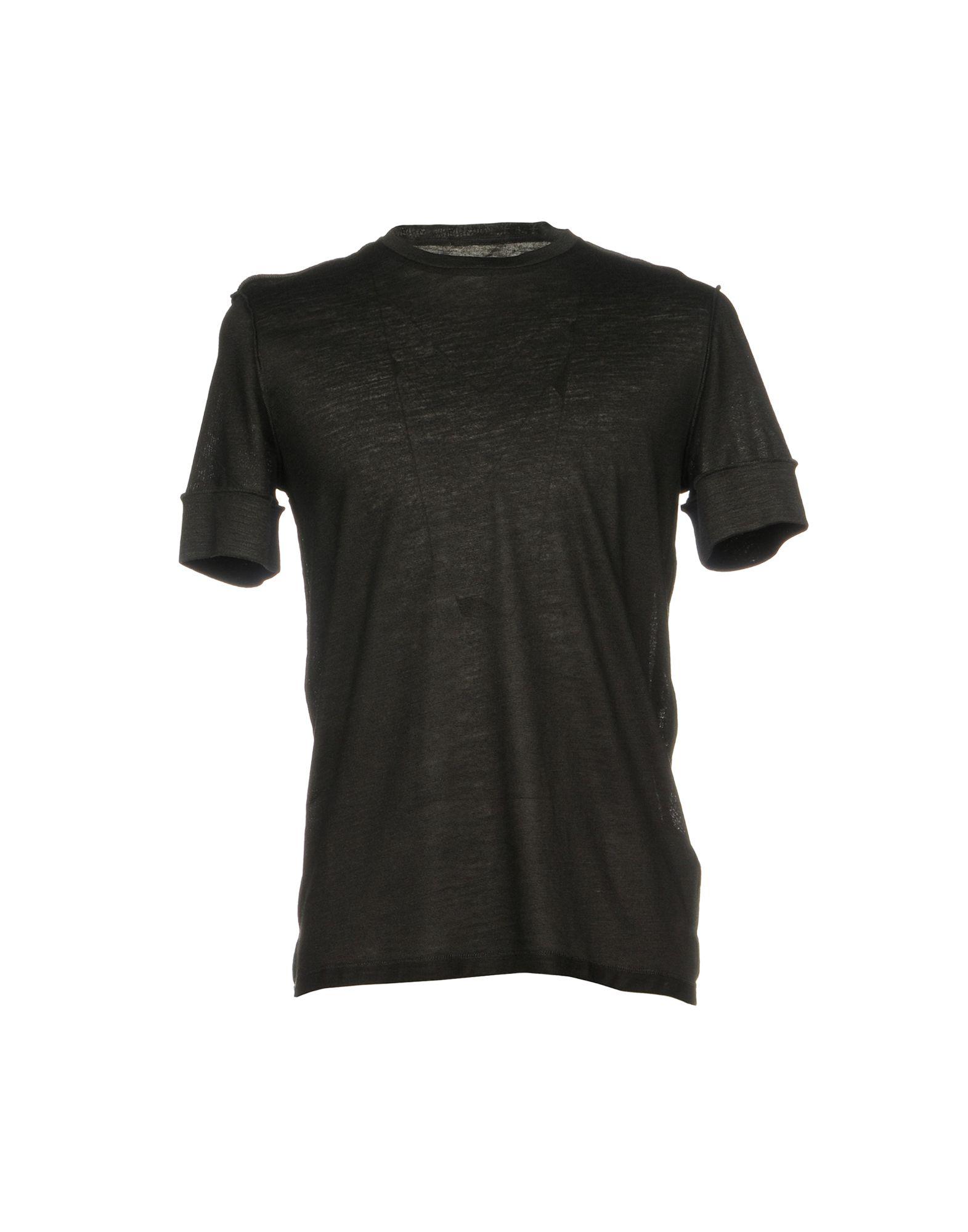 MAISON MARGIELA Herren T-shirts Farbe Schwarz Größe 4