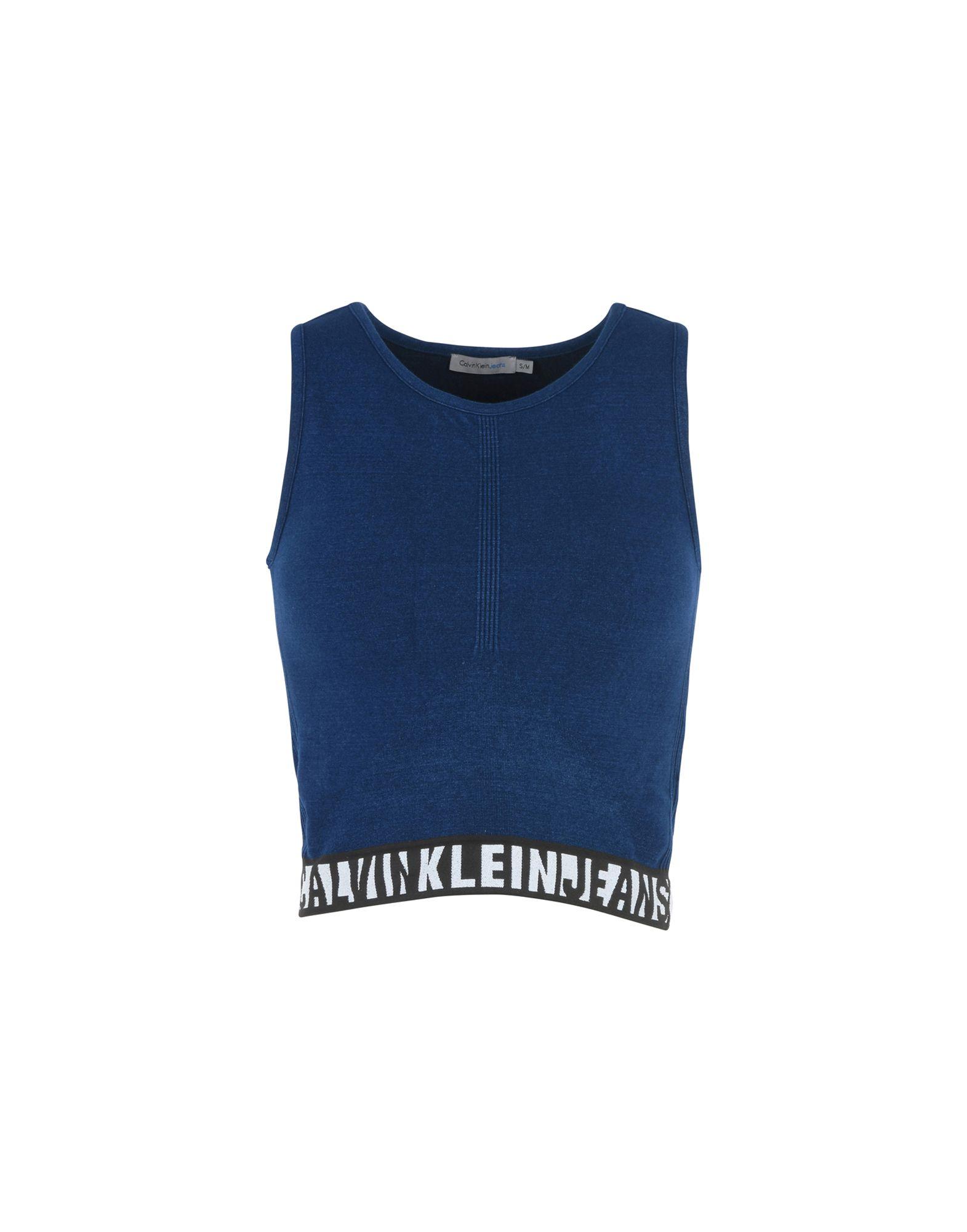 CALVIN KLEIN JEANS Топ без рукавов calvin klein jeans топ с принтом