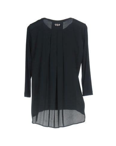 Фото 2 - Женскую футболку VDP CLUB темно-синего цвета